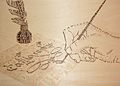 Calligramme pyrogravé.JPG