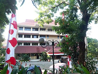 Tebet, South Jakarta - Tebet Subdistrict government office.