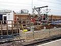 Cambridge Station, piling for the new footbridge - geograph.org.uk - 2571955.jpg