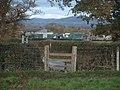 Camfa i Waen Meredydd - Stile to Gwaen Meredydd - geograph.org.uk - 1581072.jpg