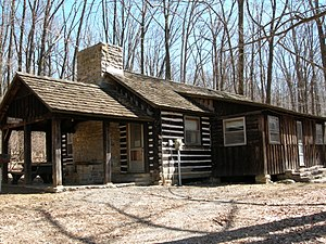 Lodge, Camp Greentop, Catoctin Mountain Park, ...