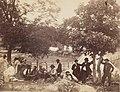 Camp of Captain Hoff, Rear View, Gettysburg, Pennsylvania MET DP254766.jpg