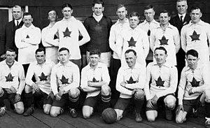 Canada men's national soccer team - The team that toured Australia in 1924