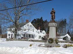Civil War monument on High Street