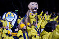 Canine Companions float by the presidential review stand 130121-Z-QU230-351.jpg