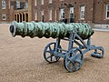 Cannon to the North of the Royal Military Academy, Woolwich (I).jpg
