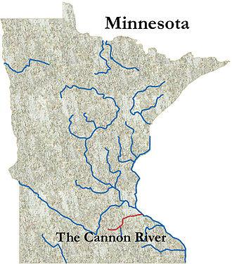Cannon River (Minnesota) - The Cannon River