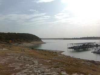 Canyon Lake (Texas) - A view of Canyon Lake
