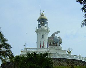 Battle of Cape Rachado - The Cape Rachado Lighthouse saw the battle.