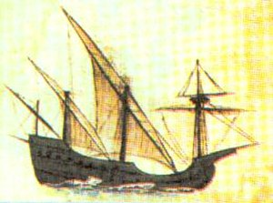 Square-rigged caravel - Square-rigged caravel (Caravela Redonda)