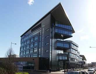 Cardiff and Vale College - City Centre Campus