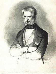 Carl Christian Vogel von Vogelstein – Großherzog Leopold II. von Toscana (1842) (Quelle: Wikimedia)