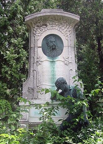 Vienna (Ultravox song) - The grave of Carl Schweighofer in 2009
