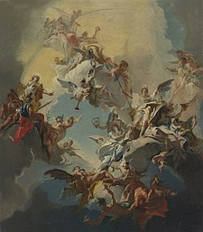 Carlo Innocenzo Carlone The Triumph of Reason- a Bozzetto For a Ceiling.jpg