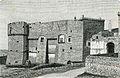 Carovigno castello con torrione a mandorla xilografia di Barberis.jpg