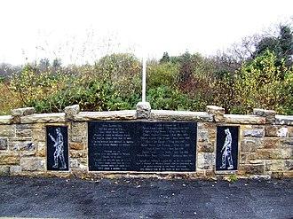 Attack on Derryard checkpoint - Image: Carragunt Bridge
