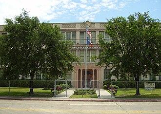 Wheatley High School (Houston) - The Carter Career Center/DeVry Advantage Academy building, which formerly served as the Wheatley High School building