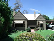 the period revival house was built in and is located at n lehmberg st it was listed in the national register of historic places in