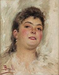 Retrat d'una dona jove