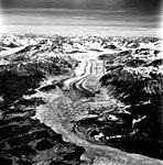 Casement Glacier, valley glacier terminus and outwash plains, August 25, 1988 (GLACIERS 5311).jpg