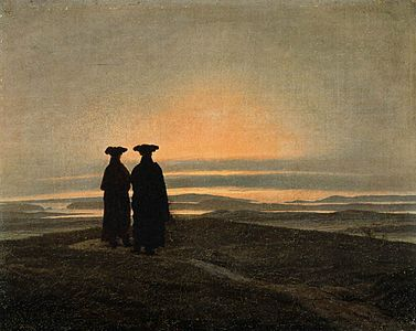 Caspar David Friedrich - Evening Landscape with Two Men - WGA8284.jpg