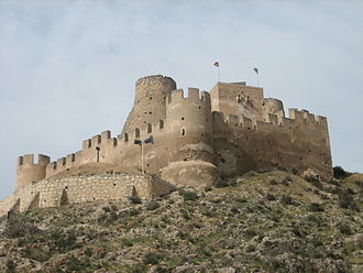 Route of the Castles of Vinalopó - Castle of Biar.