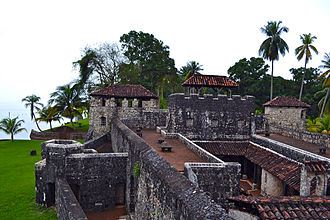 Castle of San Felipe de Lara - Castillo de San Felipe, Rio Dulce, Guatemala