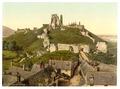 Castle, Corfe Castle, England-LCCN2002696569.tif
