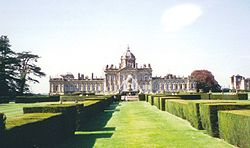 Castle Howard (1699u20131712), A Predecessor Of The English Garden Modelled On  The Gardens Of Versailles