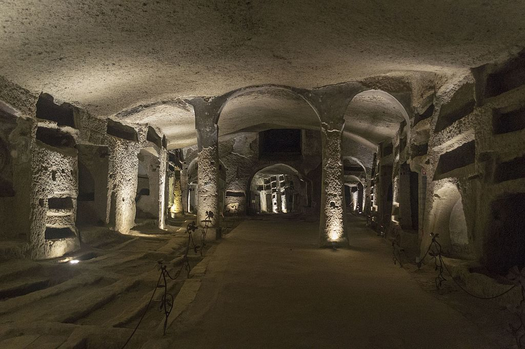 Catacombes de San gennero dans le quartier de la Sanita à Naples - Photo de Dominik Matus