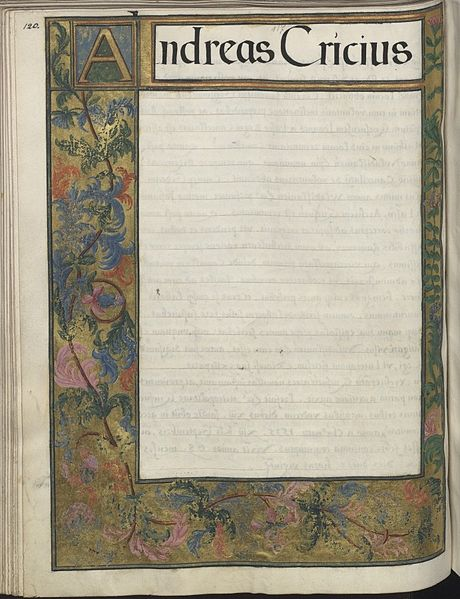 Polish illuminated manuscript