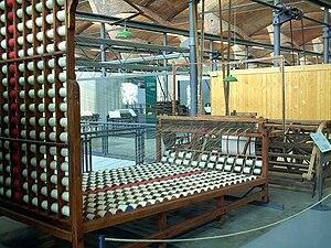 Textile manufacturing - A Warper
