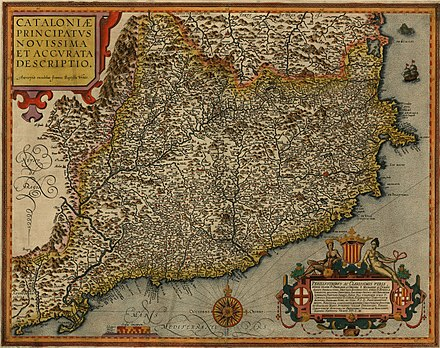 The Principality of Catalonia (1608) Cataloniae principatus 1608.jpg