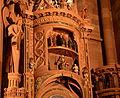 Cathédrale de Strasbourg - Détail de l'horloge astronomique (14410168602).jpg