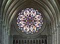 Cathedrale d'Amiens - Rosace ouest, vue du triforium.jpg