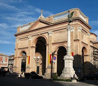 Roman Catholic Diocese of San Benedetto del Tronto-Ripatransone-Montalto - Image: Cattedrale di Montalto delle Marche