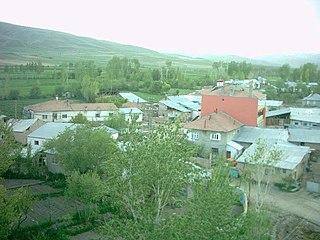 Çaykent, Çayırlı Place in Eastern Anatolia Region, Turkey