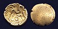 Celtic gold stater Atrebates uniface.jpg