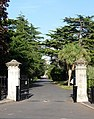 Cemetery gates and avenue, Queen's Road - geograph.org.uk - 1574731.jpg