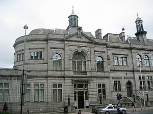 Architecture of Aberdeen - Central Library