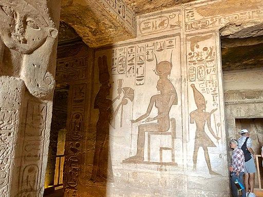 Central Hall, Temple of Hathor and Nefertari, Abu Simbel, AG, EGY (48016794617)