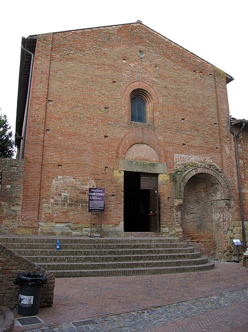 Certaldo alta, la chiesa dei Santi Tommaso e Prospero