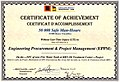 Certificate of achievement 50.000 Safe Man-Hours.jpg