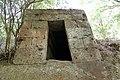 Cerveteri, necropoli della banditaccia, ingresso di tomba.jpg