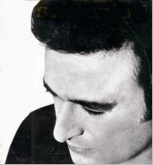 César Isella - Cover photo of Caesar's second solo album by Isella,Solitaire(1969).