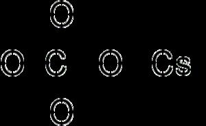 Caesium perchlorate - Image: Cesium perchlorate