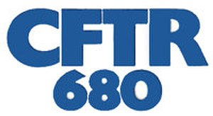 CFTR (AM) - First CFTR logo as a Top-40 station.