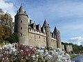 Château de Josselin façade sud depuis le Pont de Sainte-Croix.jpg
