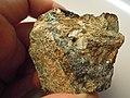 Chalcopyrite (CuFeS2) siderite (FeCO3), sphalerite (ZnS) (10962880605).jpg