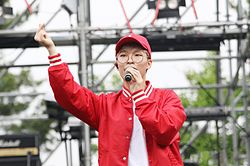 Chanhyuk at Ipselenti Korea University Campus Festival in 2016 02.jpg
